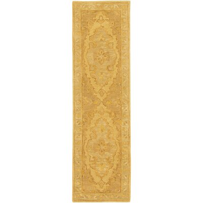 Eaddy Hand-Tufted Sunflower/Gold Area Rug Rug Size: Runner 23 x 12