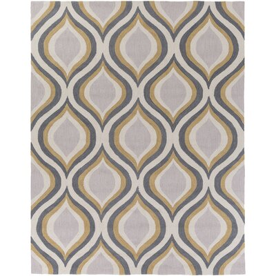 Youngberg Gray Area Rug Rug Size: Rectangle 76 x 96
