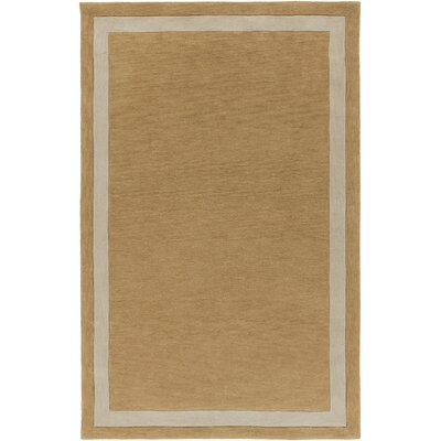 Cutrer Sand/Ivory Area Rug Rug Size: Rectangle 5 x 76