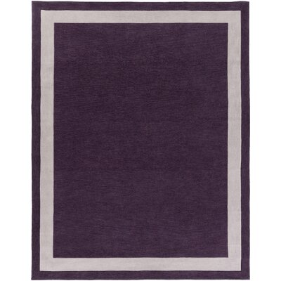 Holden Blair Purple/Ivory Area Rug Rug Size: 76 x 96