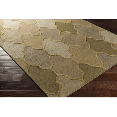 Galya Beige Area Rug Rug Size: Rectangle 6 x 9