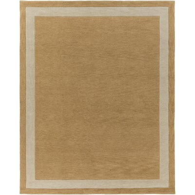 Cutrer Sand/Ivory Area Rug Rug Size: Rectangle 76 x 96