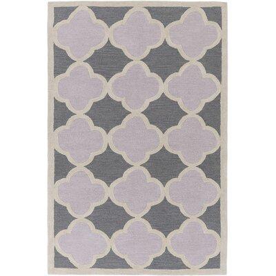 Corson Charcoal/Light Gray Area Rug Rug Size: Rectangle 5 x 76
