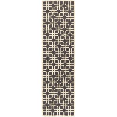 Murrah Gray & Ivory Area Rug Rug Size: Runner 23 x 8