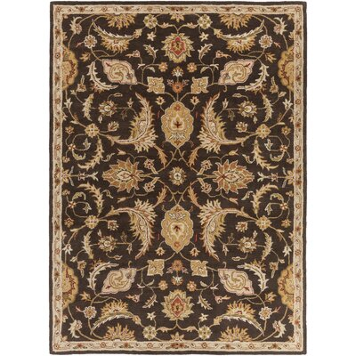 Philips Brown Area Rug Rug Size: Rectangle 76 x 96