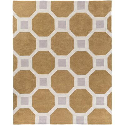 Wyche Tan Area Rug Rug Size: Rectangle 76 x 96