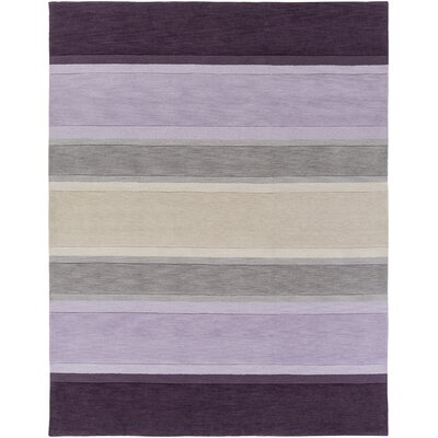 Ginn Purple Area Rug Rug Size: Rectangle 76 x 96