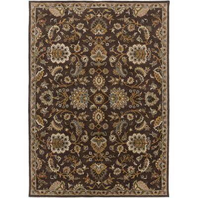 Philpott Brown Area Rug Rug Size: Rectangle 76 x 96