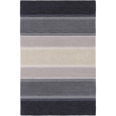 Ginn Slate Area Rug Rug Size: Rectangle 5 x 76