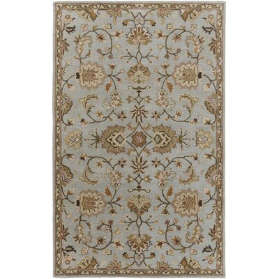 Philpott Light Blue Area Rug Rug Size: Rectangle 5 x 8