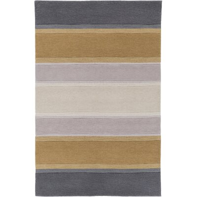 Ginn Charcoal Area Rug Rug Size: Rectangle 5 x 76