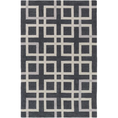Petra Gray Area Rug Rug Size: Rectangle 5 x 76
