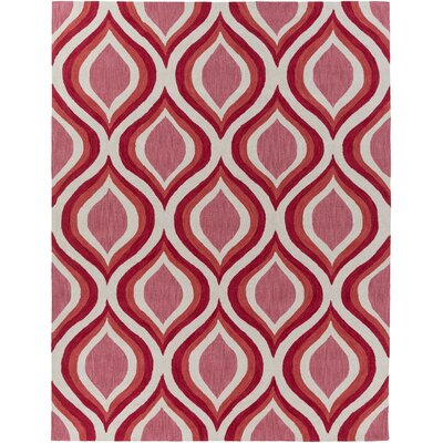 Holden Lucy Coral Area Rug Rug Size: 76 x 96