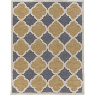 Corson Charcoal/Taupe Area Rug Rug Size: Rectangle 76 x 96