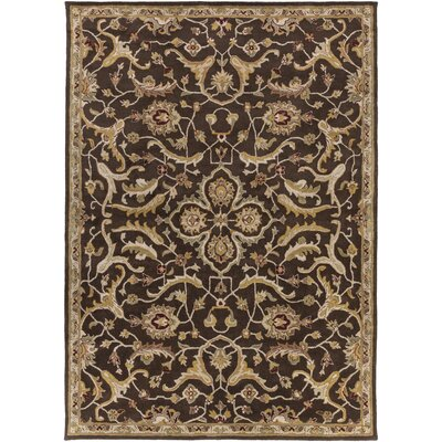 Middleton Ava Brown Area Rug Rug Size: 8 x 11