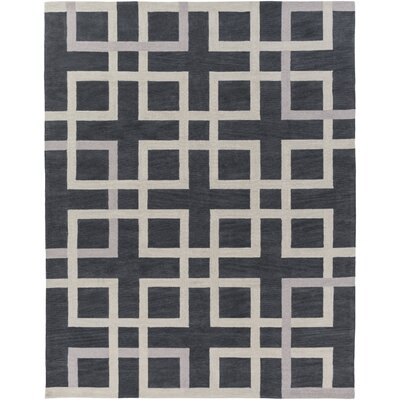 Petra Gray Area Rug Rug Size: Rectangle 76 x 96