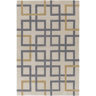 Petra Ivory Area Rug Rug Size: Rectangle 76 x 96