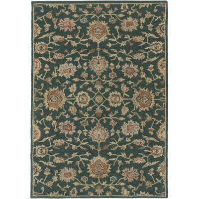 Dyal Emerald Area Rug Rug Size: Rectangle 9 x 12