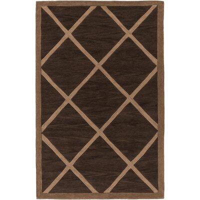 Cleitus Brown/Tan Area Rug Rug Size: Rectangle 5 x 76
