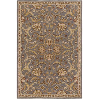 Middleton Ava Gray Area Rug Rug Size: 76 x 96