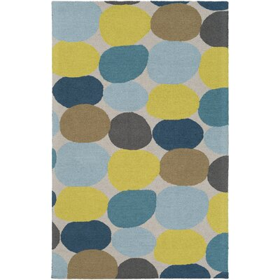 Moyers Hand-Tufted Multi Area Rug Rug Size: Rectangle 5 x 8