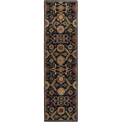 Phair Hand-Tufted Navy Area Rug Rug Size: Runner 23 x 12