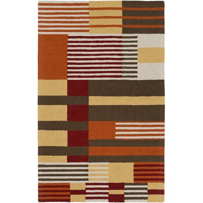 Impression Rebecca Hand-Tufted Multi Area Rug Rug Size: 9 x 13