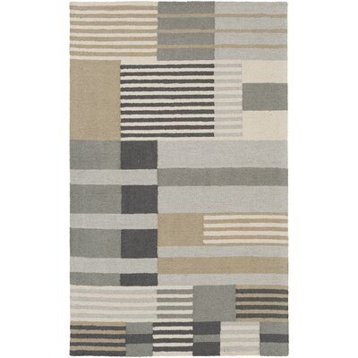 Moyle Hand-Tufted Multi Area Rug Rug Size: Rectangle 4 x 6