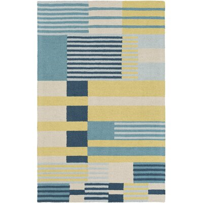 Impression Rebecca Hand-Tufted Multi Area Rug Rug Size: 5 x 8