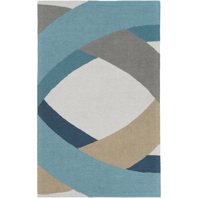 Oswaldo Hand-Tufted Multi Area Rug Rug Size: Rectangle 5 x 8