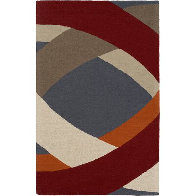 Oswaldo Hand-Tufted Multi Area Rug Rug Size: Rectangle 4 x 6