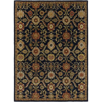 Phair Hand-Tufted Navy Area Rug Rug Size: Rectangle 76 x 96