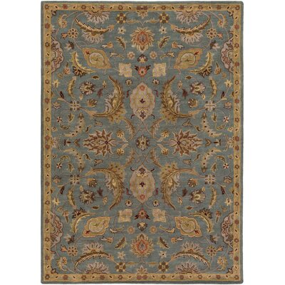 Philips Hand-Tufted Blue Area Rug Rug Size: Rectangle 3 x 5