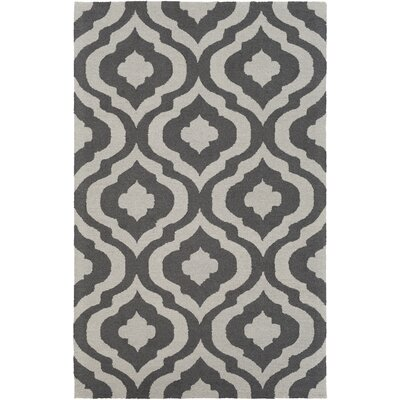 Wyckoff Hand-Tufted Gray Area Rug Rug Size: Rectangle 5 x 8