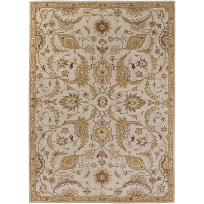 Phipps Hand-Tufted Light Blue Area Rug Rug Size: Rectangle 76 x 96