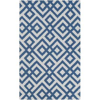 Phelps Hand-Tufted Blue Area Rug Rug Size: Rectangle 9 x 13