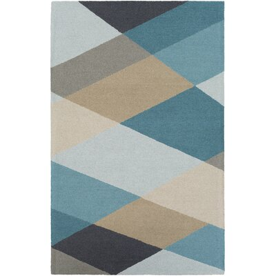 Impression Nikki Hand-Tufted Multi Area Rug Rug Size: 5 x 8