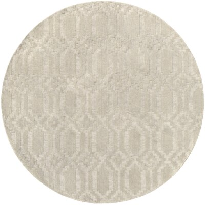 Sherman Area Rug Rug Size: Round 6