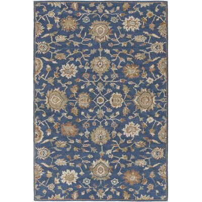 Dyal Blue Area Rug Rug Size: Rectangle 76 x 96