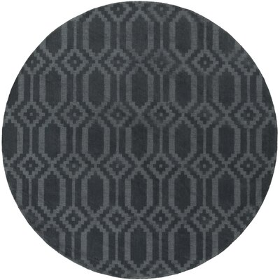 Metro Scout Hand-Loomed Denim Area Rug Rug Size: Round 79