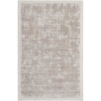 Natalie Hand-Loomed Gray Area Rug Rug Size: Rectangle 8 x 10