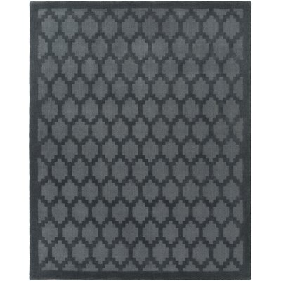 Bracey Hand-Loomed Denim Area Rug Rug Size: Rectangle 4 x 6