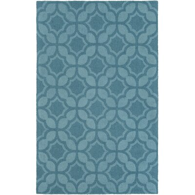 Wyckhoff Hand-Tufted Blue Area Rug Rug Size: Rectangle 9 x 13