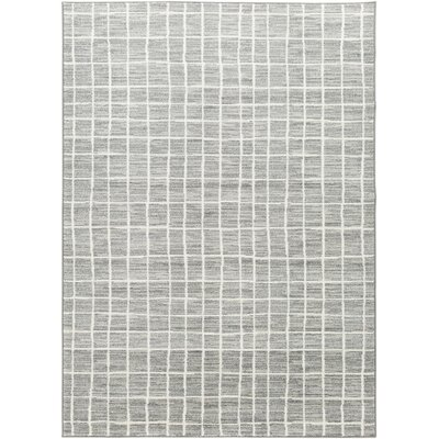 Zeledon Gray Area Rug Rug Size: Rectangle 53 x 73