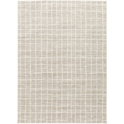 Zeledon Beige Area Rug Rug Size: Rectangle 53 x 73