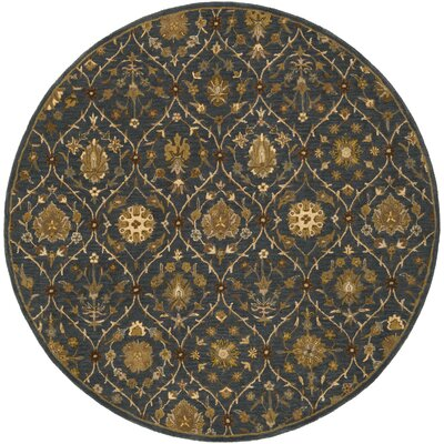 Phinney Hand-Tufted Area Rug Rug Size: Round 36