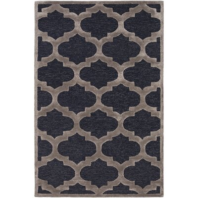 Boise Hand-Tufted Navy Area Rug Rug Size: Rectangle 76 x 96