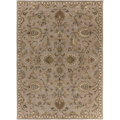 Philpott Beige Area Rug Rug Size: Rectangle 76 x 96