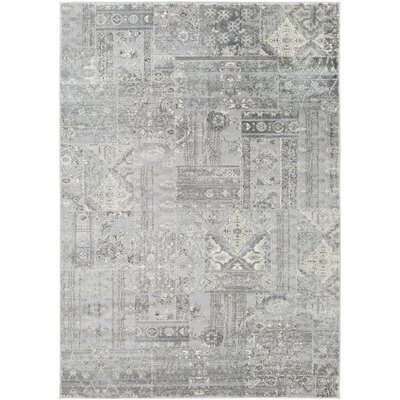 Dade Gray Area Rug Rug Size: Rectangle 310 x 57