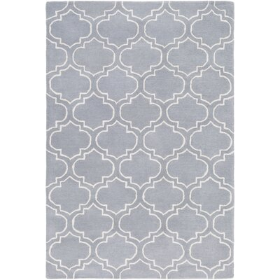 Shandi Hand-Tufted Lavender Area Rug Rug Size: Rectangle 4 x 6